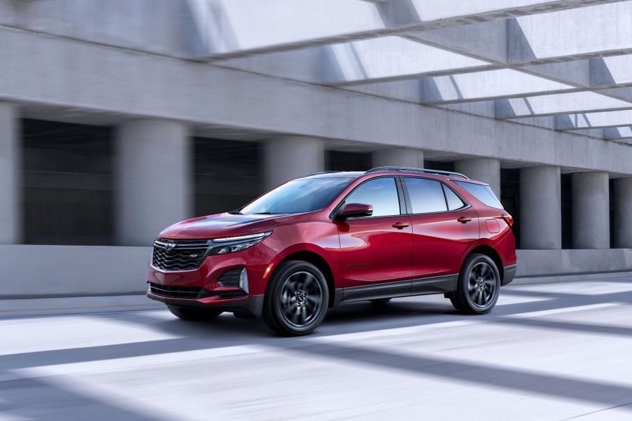 Обновленный Chevrolet Equinox обзавелся спортивной версией 1