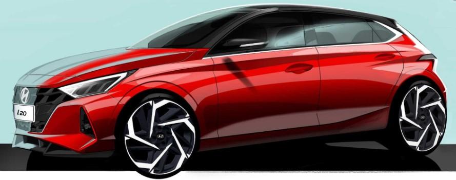 Hyundai презентовал изображения нового i20 1