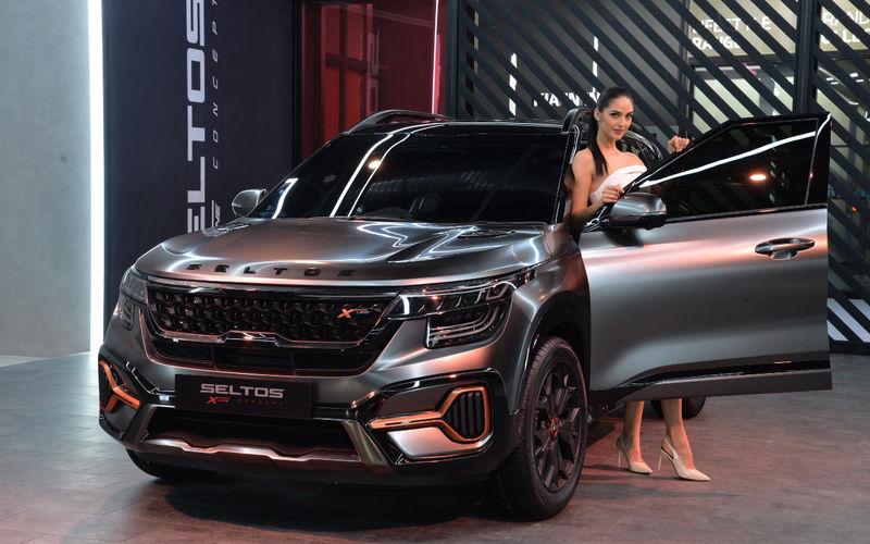 Seltos X-Line Concept посетил автосалон в Нью-Дели 1