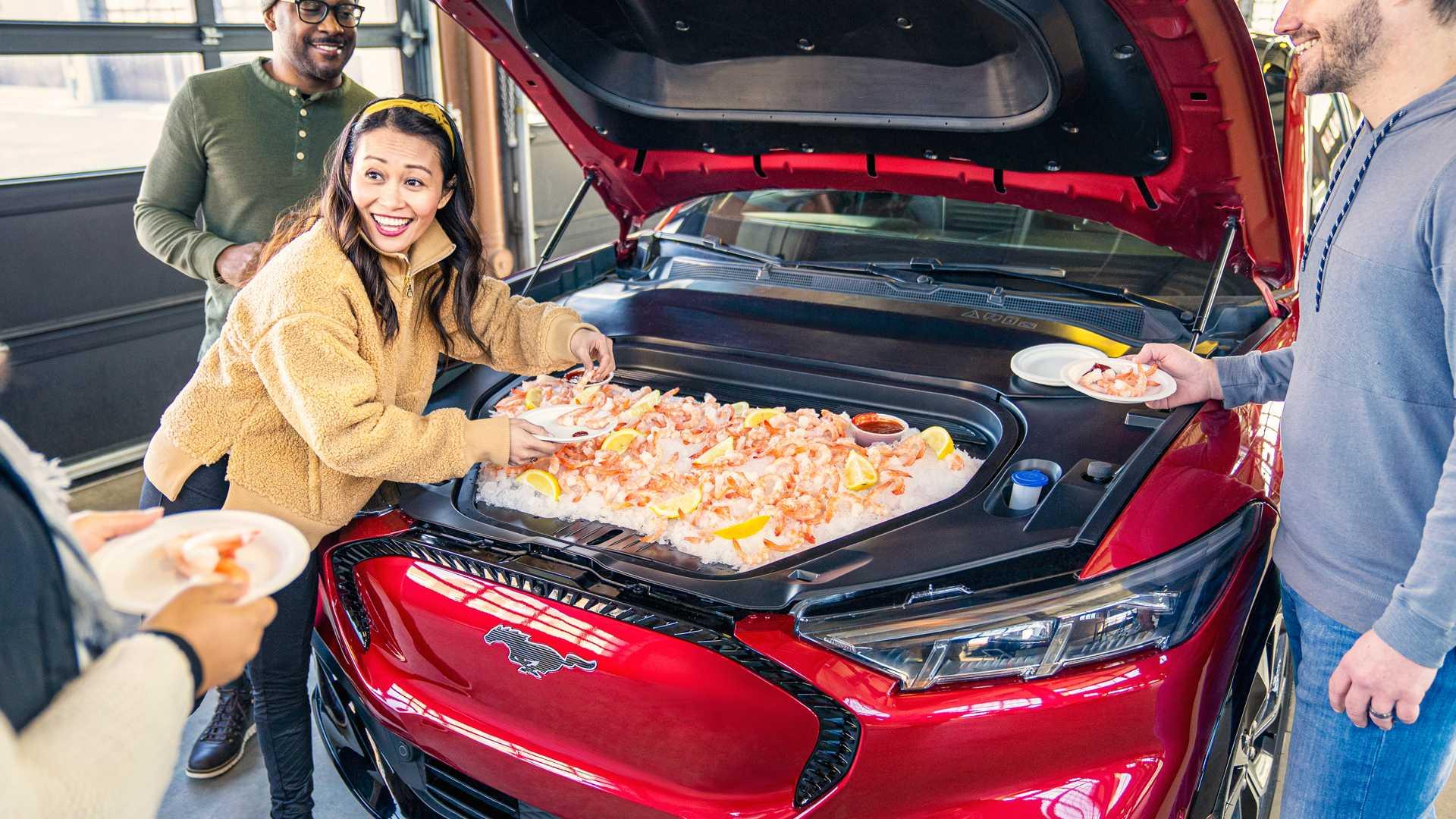 Из нового электрокроссовера Ford сделали холодильник на колесах 2