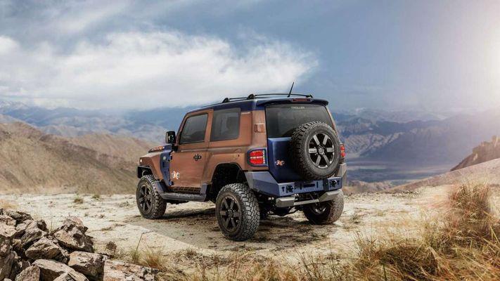 Как выглядит альтернативный Ford Bronco 2