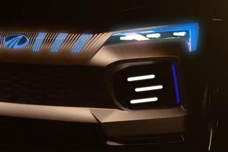 Mahindra представит электрический кроссовер 1