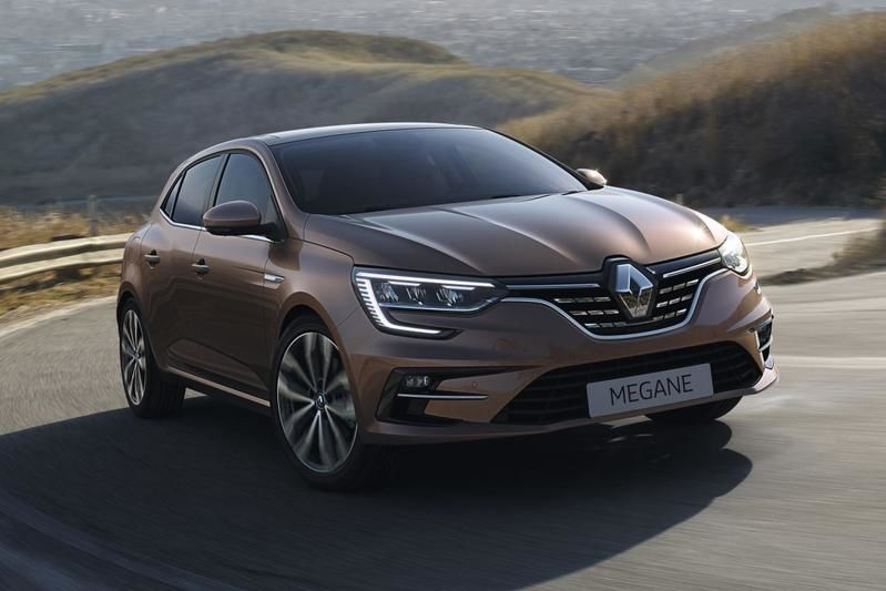 Компания Renault презентовала обновленный Megane 1