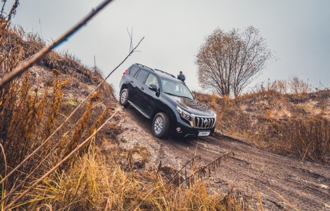 Тест-драйв Toyota Land Cruiser Prado 150 5