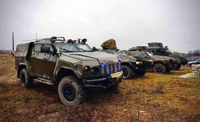 В Украине ведется разработка нового бронеавтомобиля 1