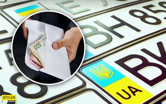 Во сколько украинцам обойдется индивидуальный автомобильный номер 1