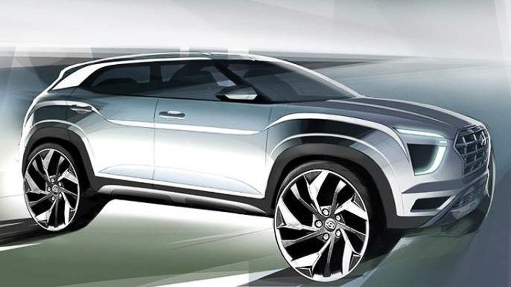 Hyundai представит новую Creta 1