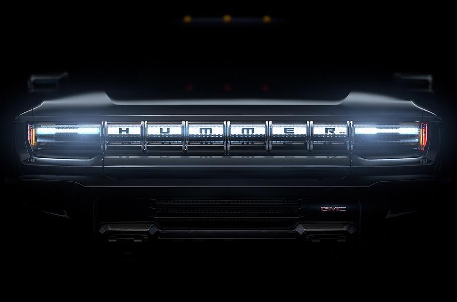 Опубликовано первое изображение 1000-сильного электрический пикапа Hummer 1