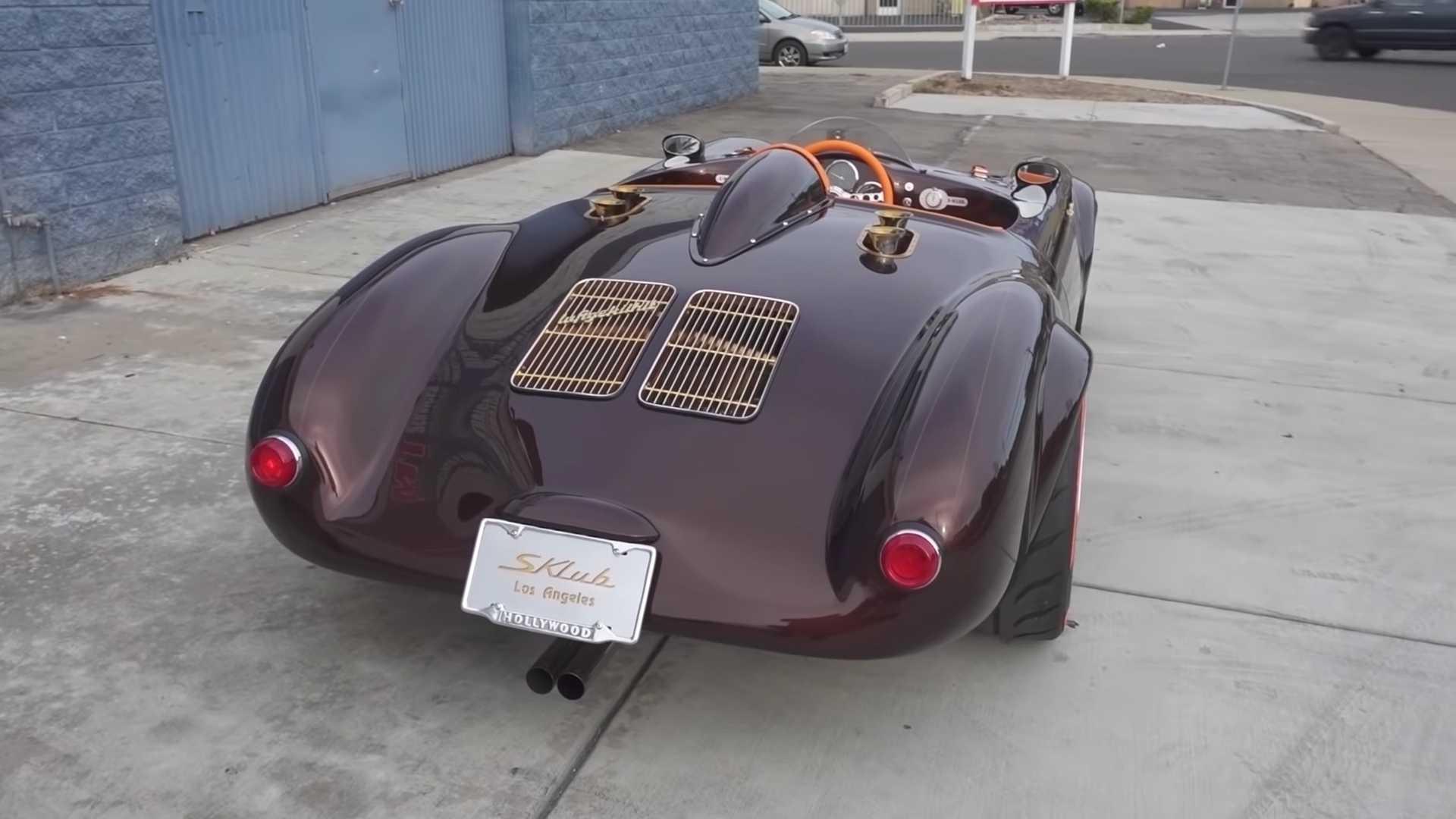 Американцы построили реплику Porsche с единственным креслом по центру 2