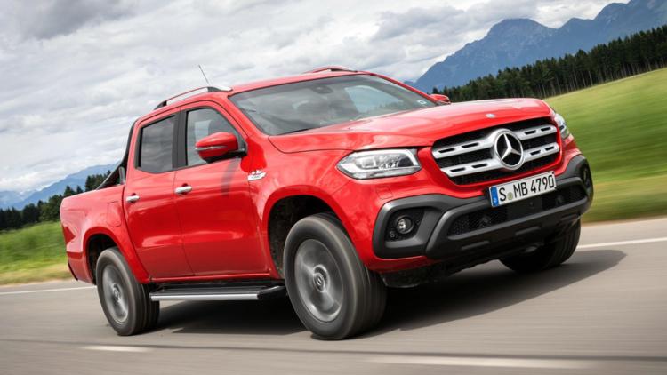 Mercedes-Benz прекращает производство пикапа X-Class 1