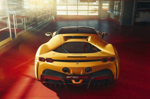 Ferrari представит четырехмоторный электрокар 1