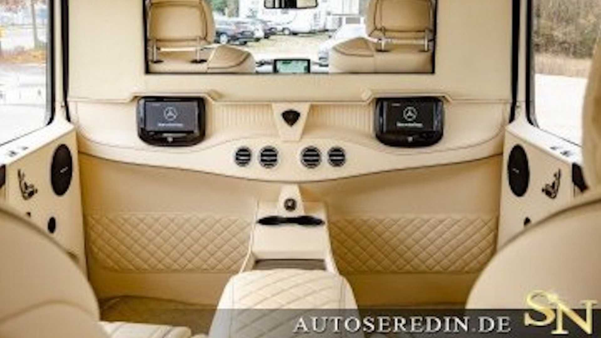Как выглядит лимузин «Гелендваген» за 500 тысяч евро 3