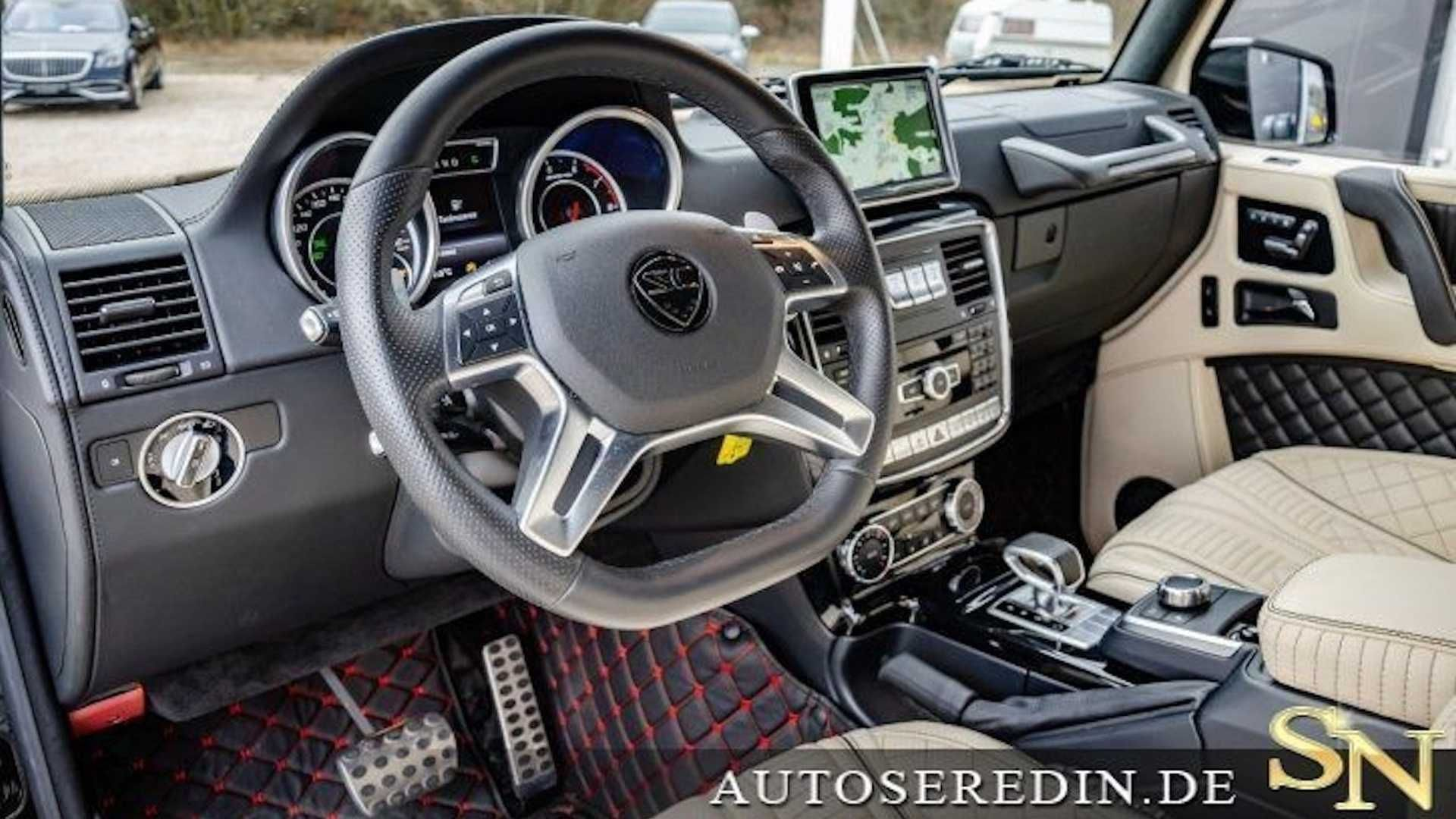 Как выглядит лимузин «Гелендваген» за 500 тысяч евро 2