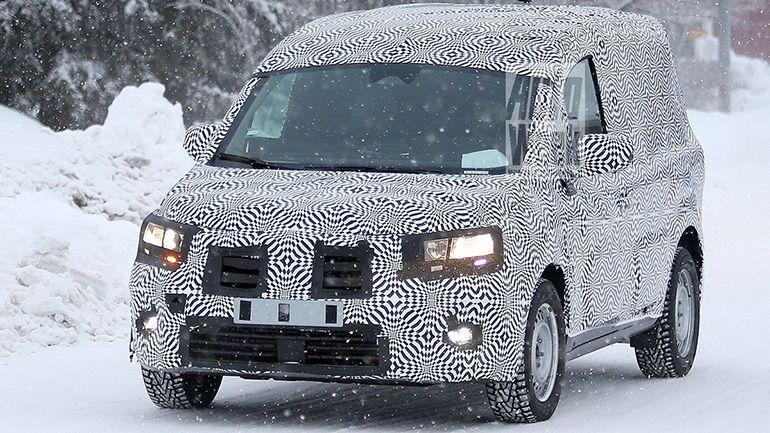 Фотошпионы заметили новый Renault Kangoo 1