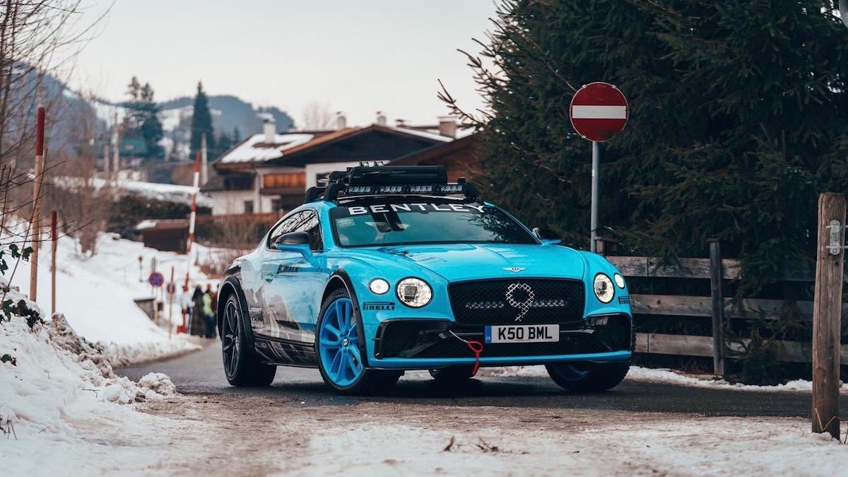 Фирма Bentley придумала внедорожный Continental GT 1