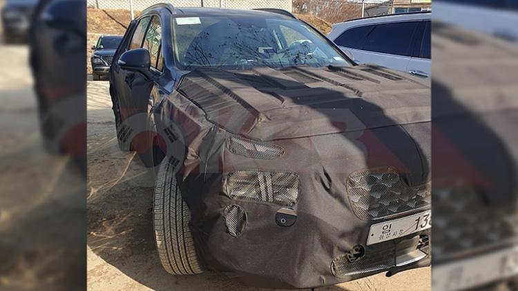 Обновленный Hyundai Santa Fe показался в Сети 1
