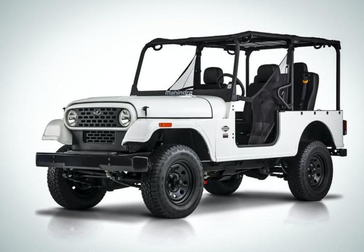 Индусы обновили дешевую копию Jeep Wrangler 1