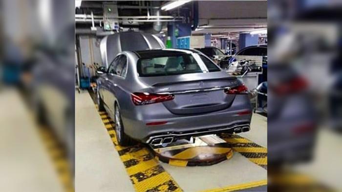 Обновленный Mercedes-AMG E 63 S показался без камфуляжа 1