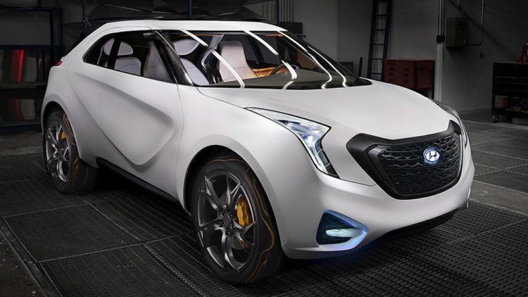 Hyundai презентует кроссовер в стиле Daewoo Matiz 1