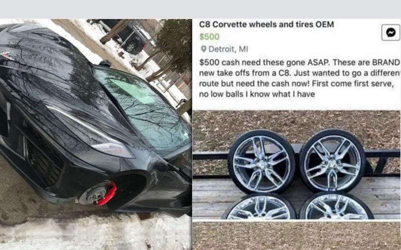 Похитители уникальных колес попались на объявлении об их продаже 1
