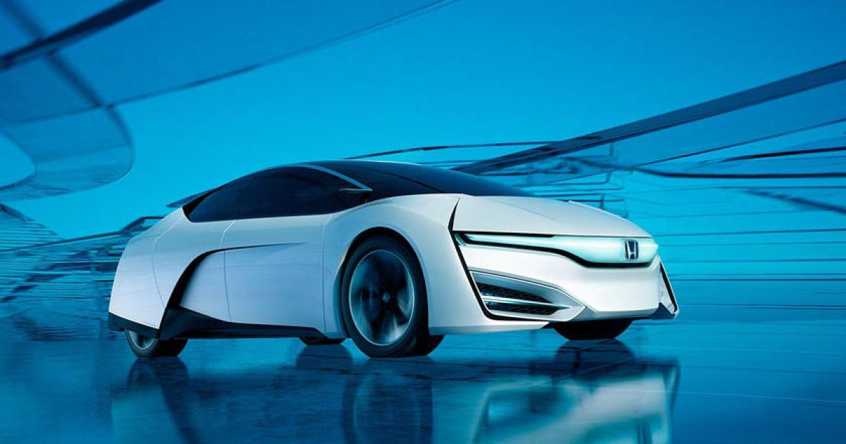 Honda займется производством водородных автомобилей 1