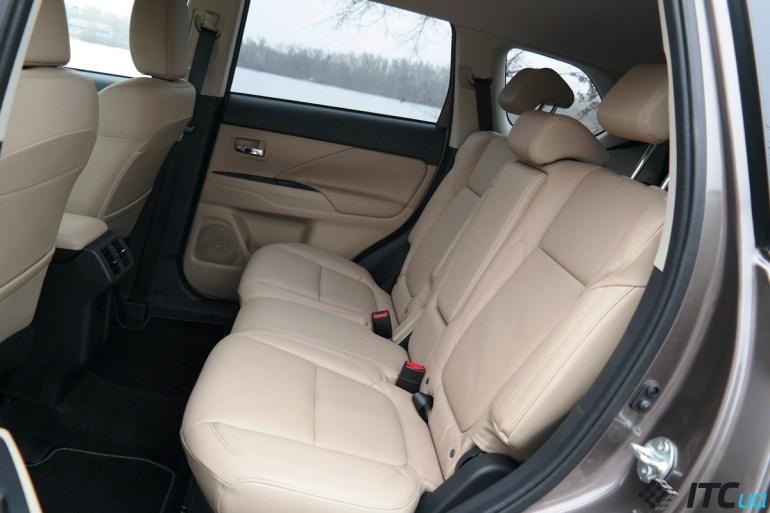 Тест-драйв нового Mitsubishi Outlander 5