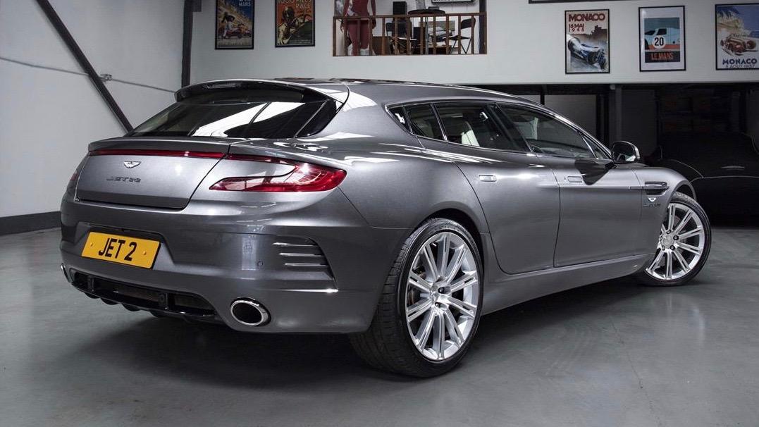 В продаже появился уникальный универсал Aston Martin 2