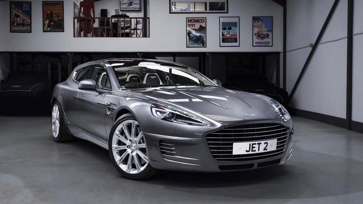 В продаже появился уникальный универсал Aston Martin 1