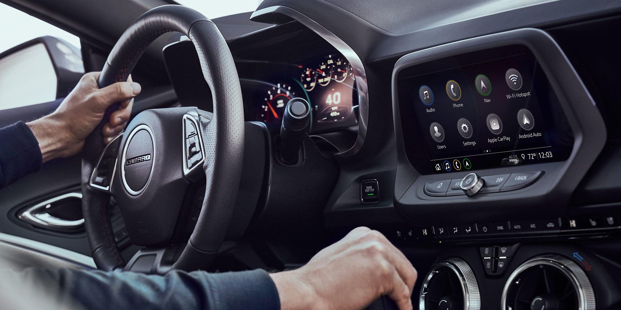 Тест-драйв нового Chevrolet Camaro 4