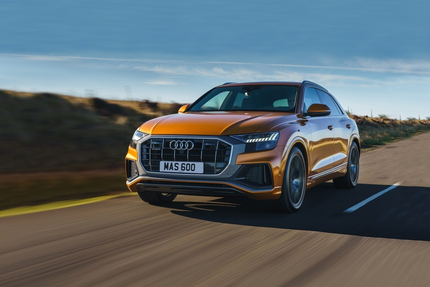 Обзор нового Audi Q8 1
