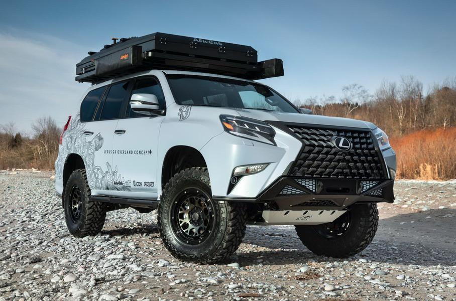 Lexus хочет выпустить особенный GX Overland 1