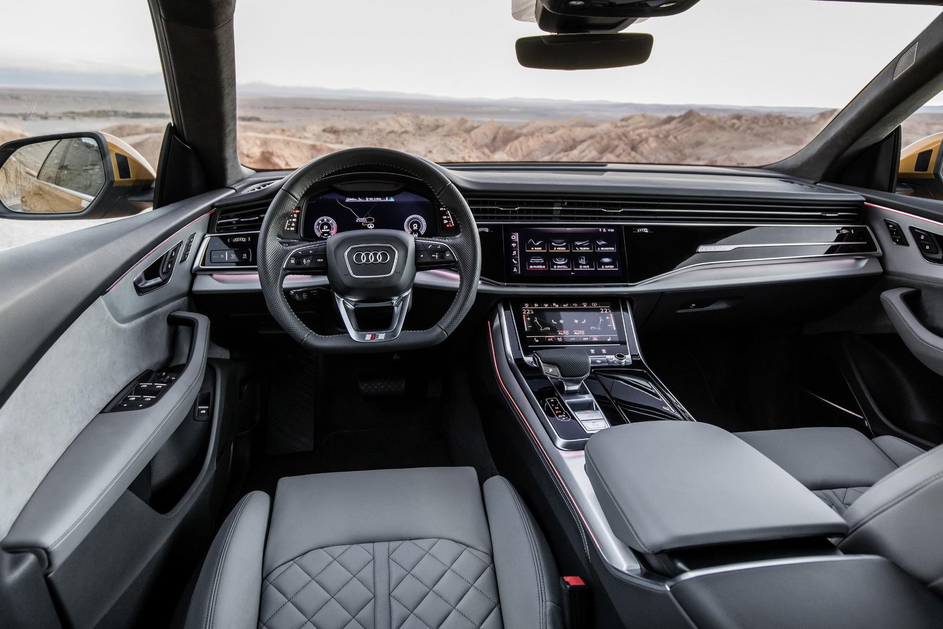 Обзор нового Audi Q8 3