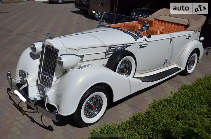 Раритетный 86-летний Packard продают в Украине 1
