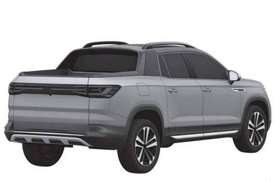 Volkswagen запатентовал дизайн пикапа на базе Tiguan 2