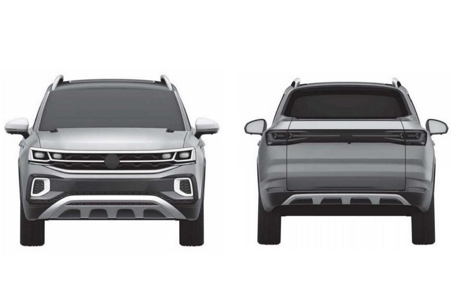 Volkswagen запатентовал дизайн пикапа на базе Tiguan 3