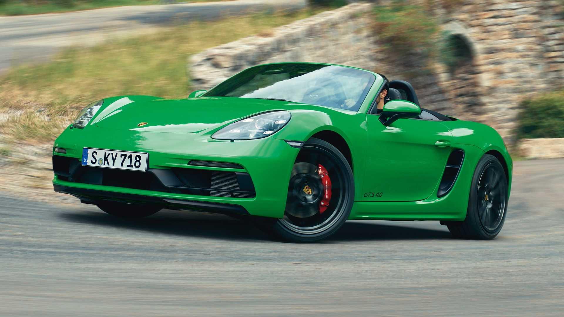 У Porsche 718 появилась ещё одна GTS-версия 1