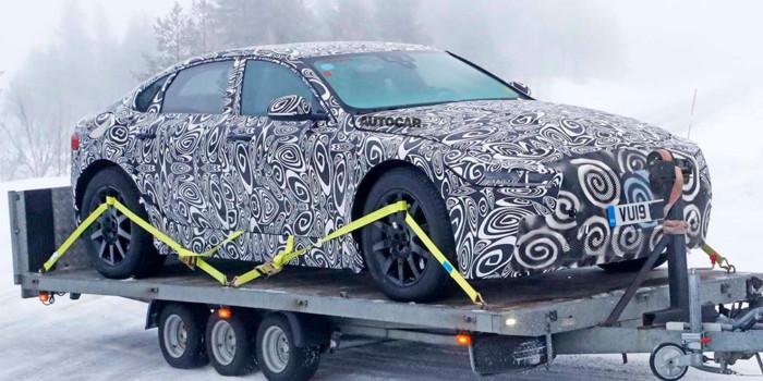 Jaguar тестирует новое поколение седана XJ 1