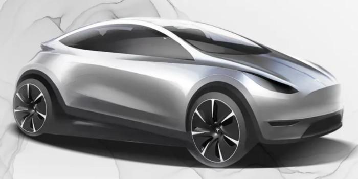 Компания Tesla показала новый неизвестный электрокар 1
