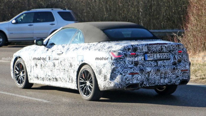 BMW тестирует 4-Series 2021 году 2