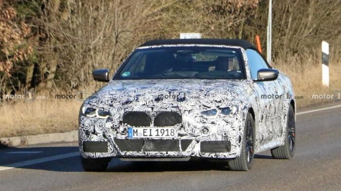 BMW тестирует 4-Series 2021 году 1