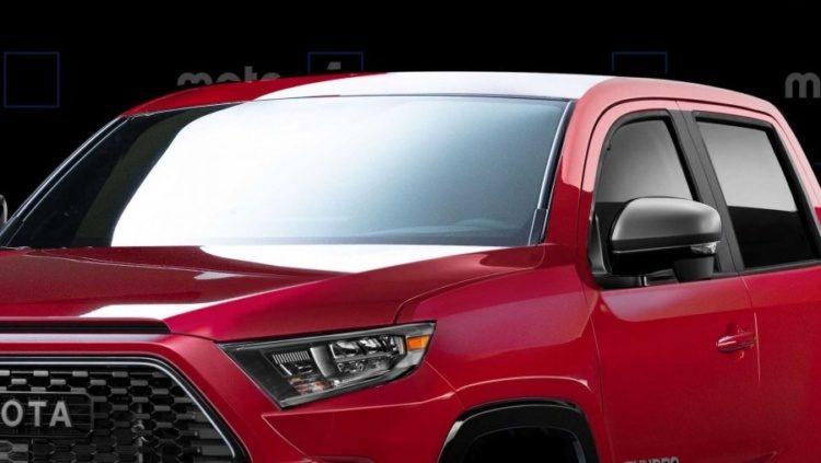 Опубликованы рендеры Toyota Tundra нового поколения 1