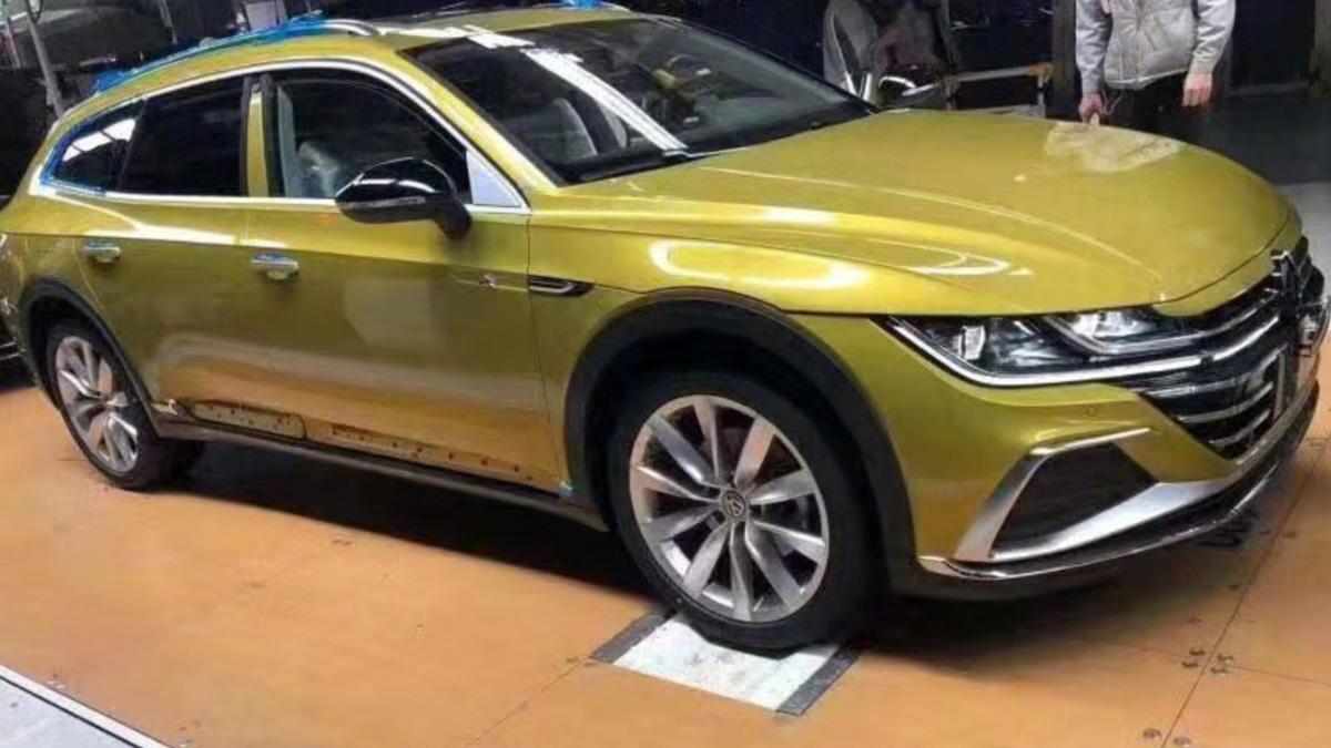 Универсал VW Arteon раскрыли до премьеры 1