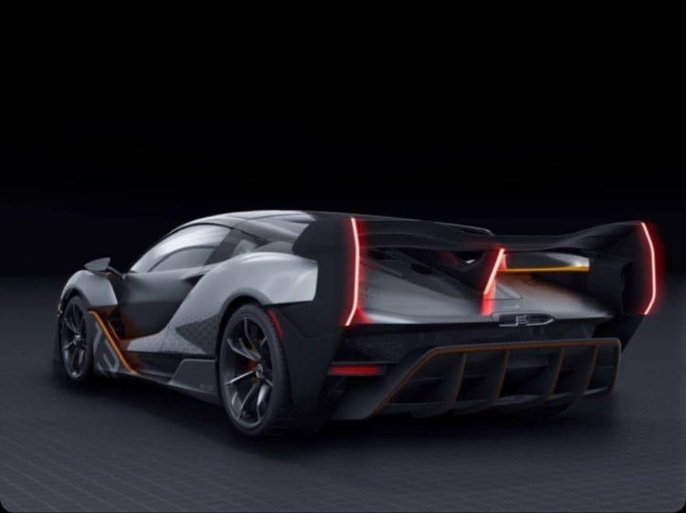 Самый экстремальный McLaren показался на официальных снимках 2