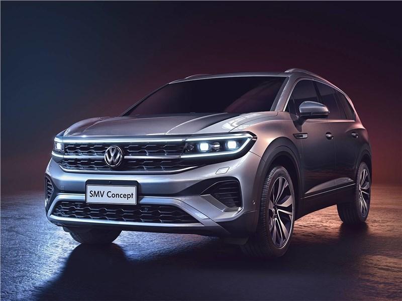 В линейке Volkswagen появится новый крупный паркетник 1