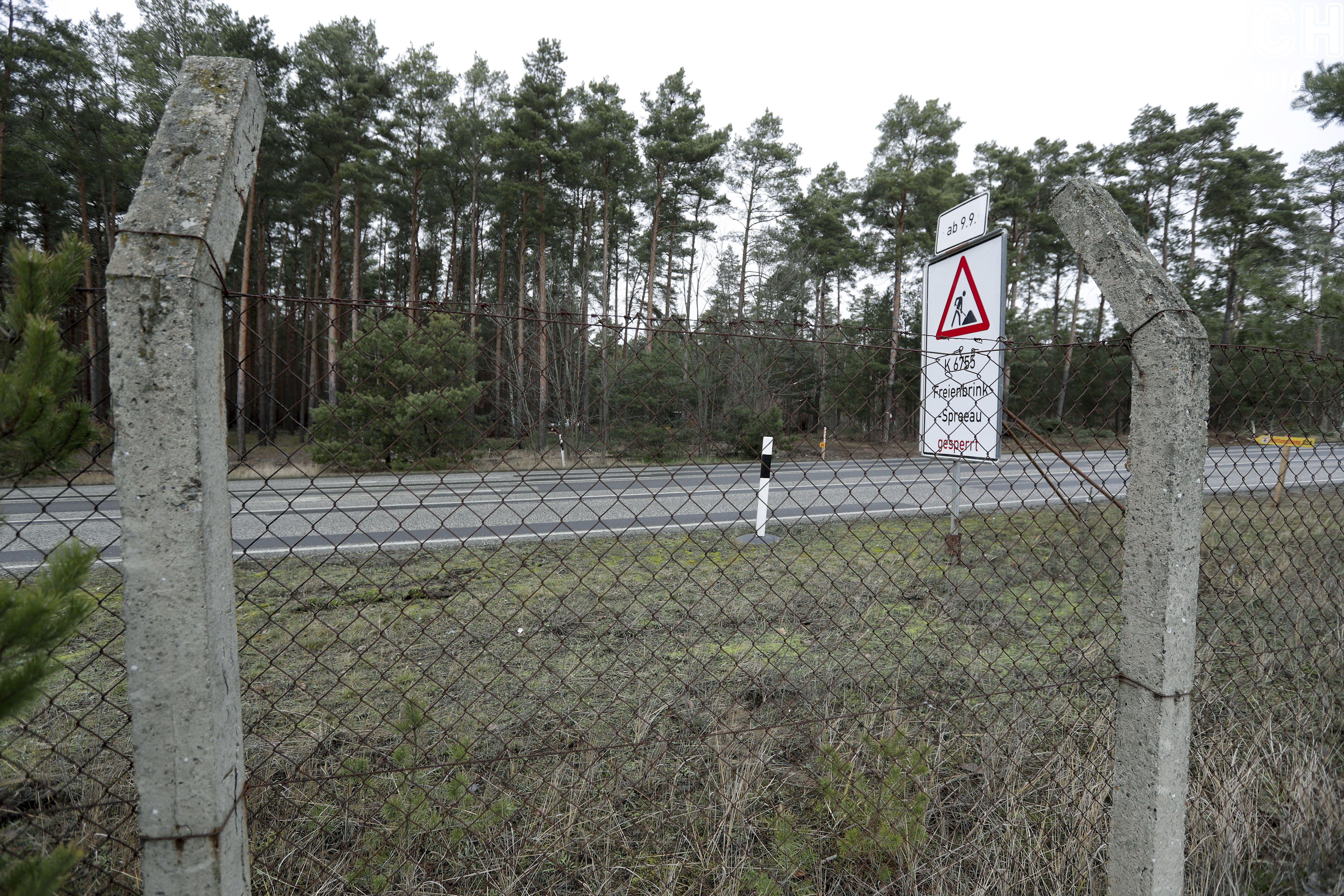 Компания Tesla ищет мины и рубит лес в Германии 4