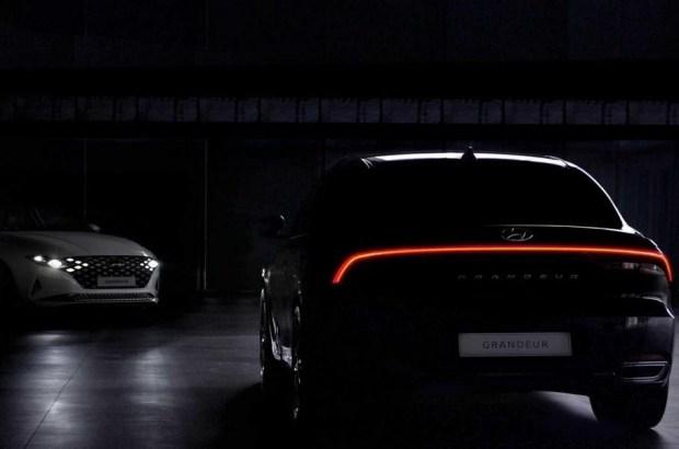 Hyundai начал продажи обновленного седана Grandeur 1
