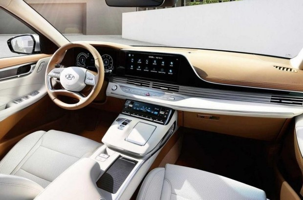 Hyundai начал продажи обновленного седана Grandeur 2