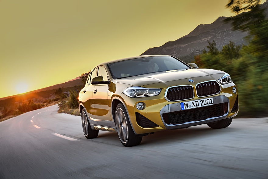 BMW X2 стал электрокаром 1