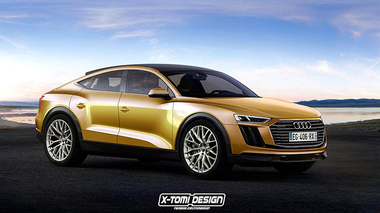 Audi готовится представить флагманский кроссовер Q9 1
