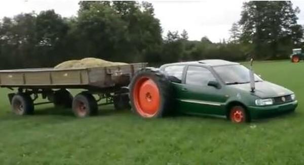 Volkswagen Polo получил колеса больше, чем сам автомобиль 1